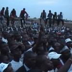Des militants de l'UDPS venu écouter Meeting Félix Tshisekedi à Lubumbashi