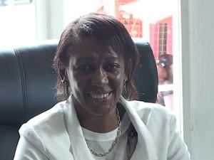 Rose Ntumba Kaja, Bâtonnier du barreau de Lubumbashi. Capture d'écran