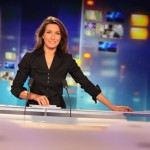 Anne-Marie Coudray, TF1. Source: Le Figaro