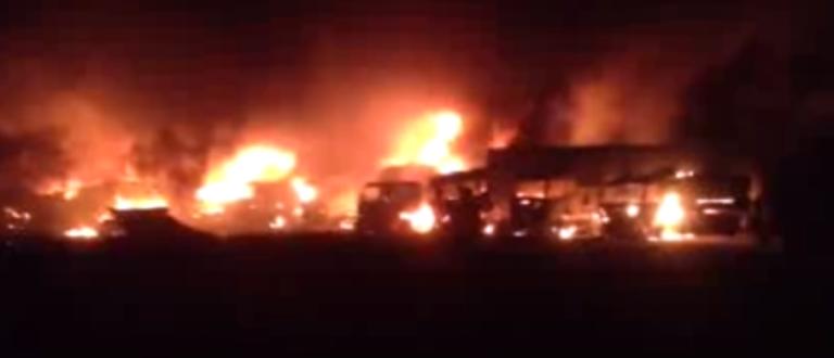 Article : Un incendie de la honte à Kasumbalesa