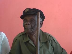 Un ancien combattant nonagénaire (40-45) à Lubumbashi. Kyondo tv