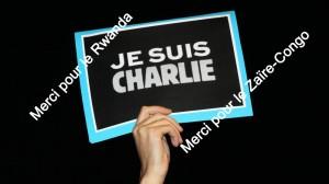 Je suis Charlie ZaIre Rwanda