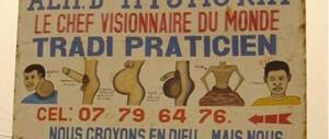 Affiche publicitaire d'un tradipraticien à Kisangani (RDC) | Source: France 24, Les Observateurs