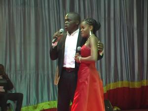 Des choristes de Lubumbashi au concert d'opéra. Samedi 2 mai 2015. | Photo Magloire Mwamba