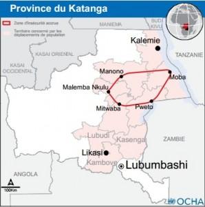 Les pygmées et les bantus se battent au triangle de la mort, au Katanga