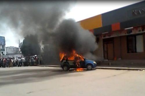Article : RDC: un taximan s'immole par le feu à Lubumbashi