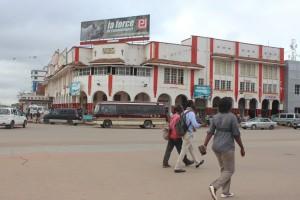 Place de la poste, Lubumbashi
