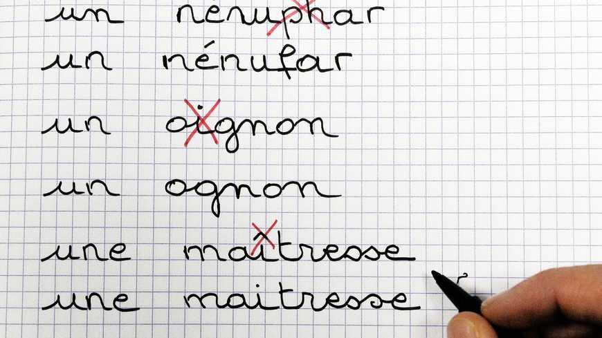 Fautes d'orthographe du Français