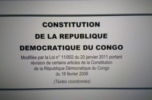 Article : RDC: les 10 ans d'une constitution tant disputée