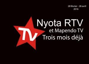 Nyota RTV et Mapendo TV