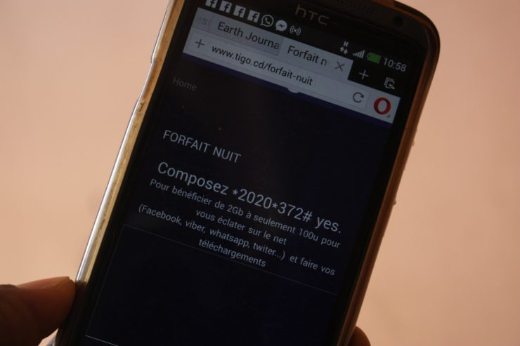 Internet en RDC