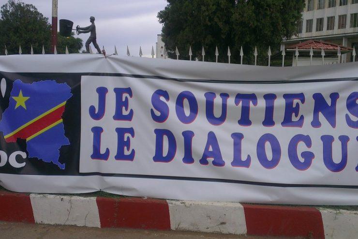 Lubumbashi, RDC, Dialogue