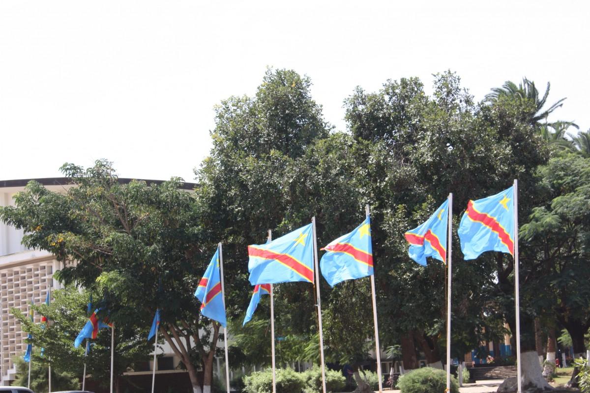 Drapeaux de la RDC