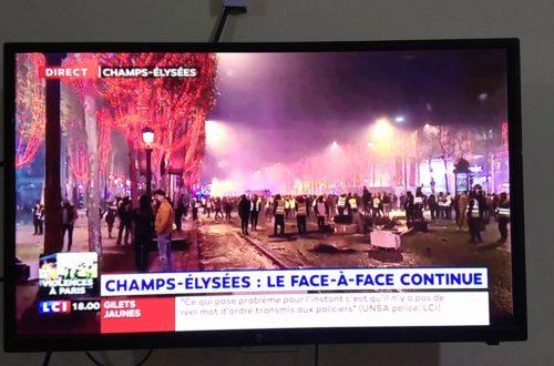 Article : Les Gilets jaunes français vus du Congo